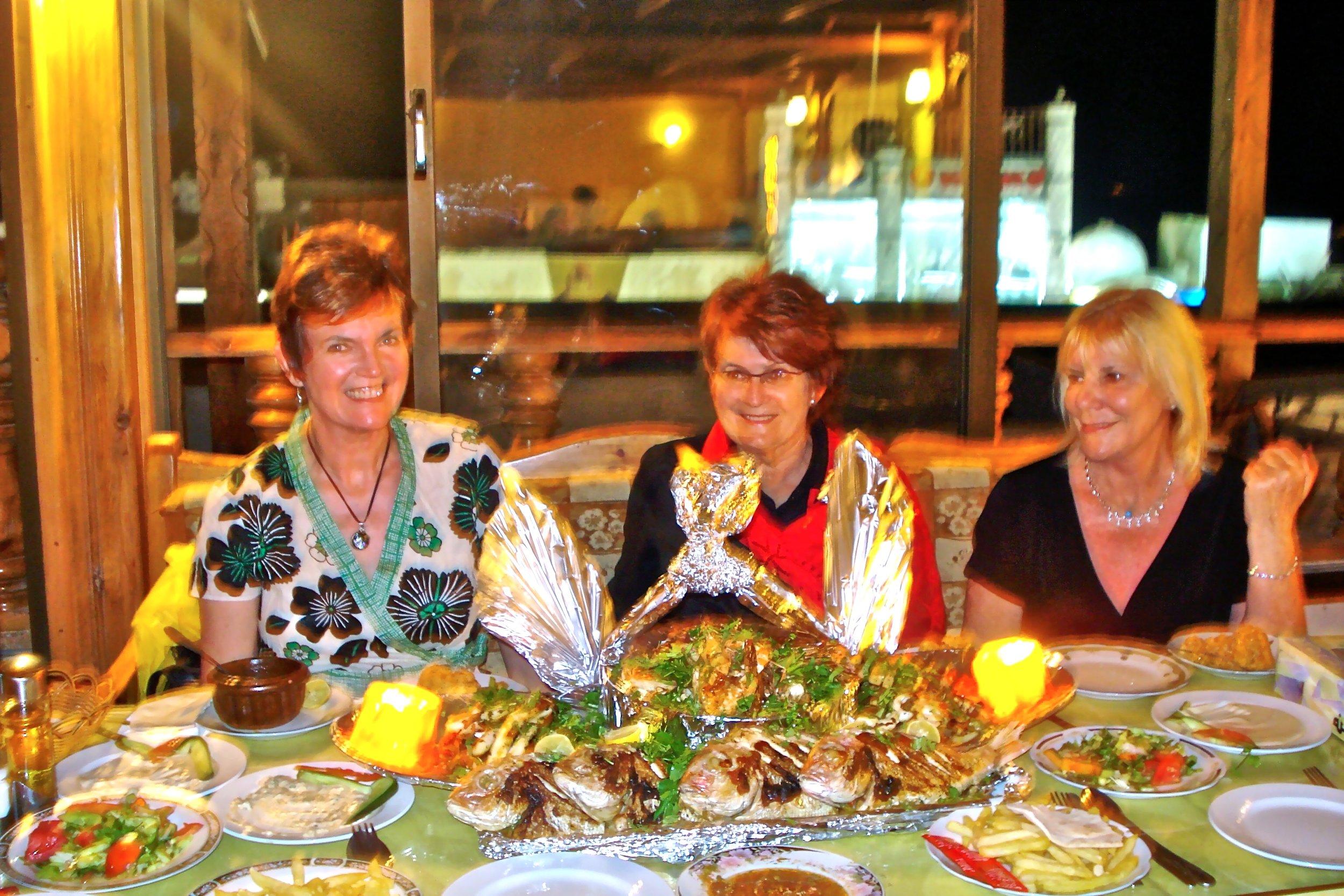 2008 Glenda's Birthday Feast Seafood Restaurant Dahab.jpg
