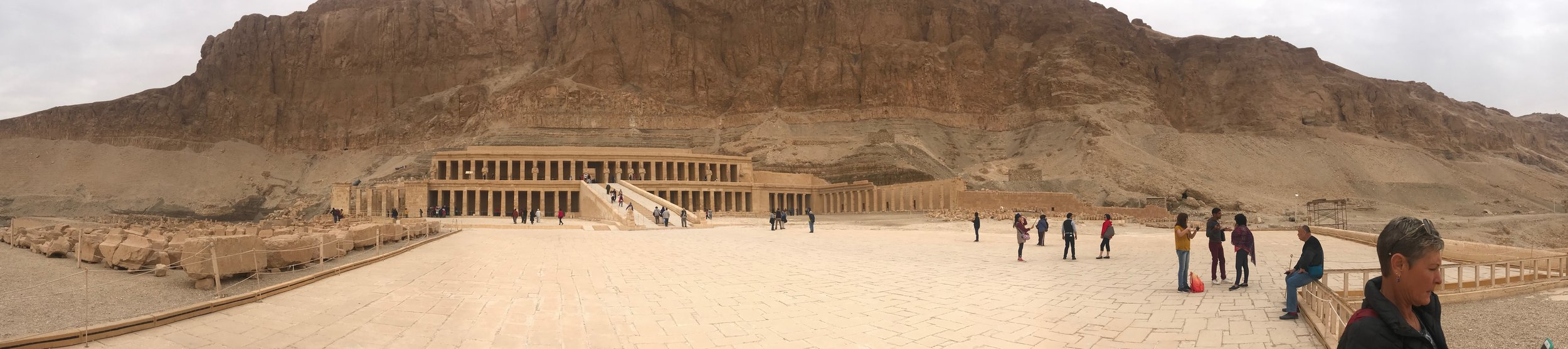 Grand entrance to the Mortuary Temple of Queen Hatshepsut
