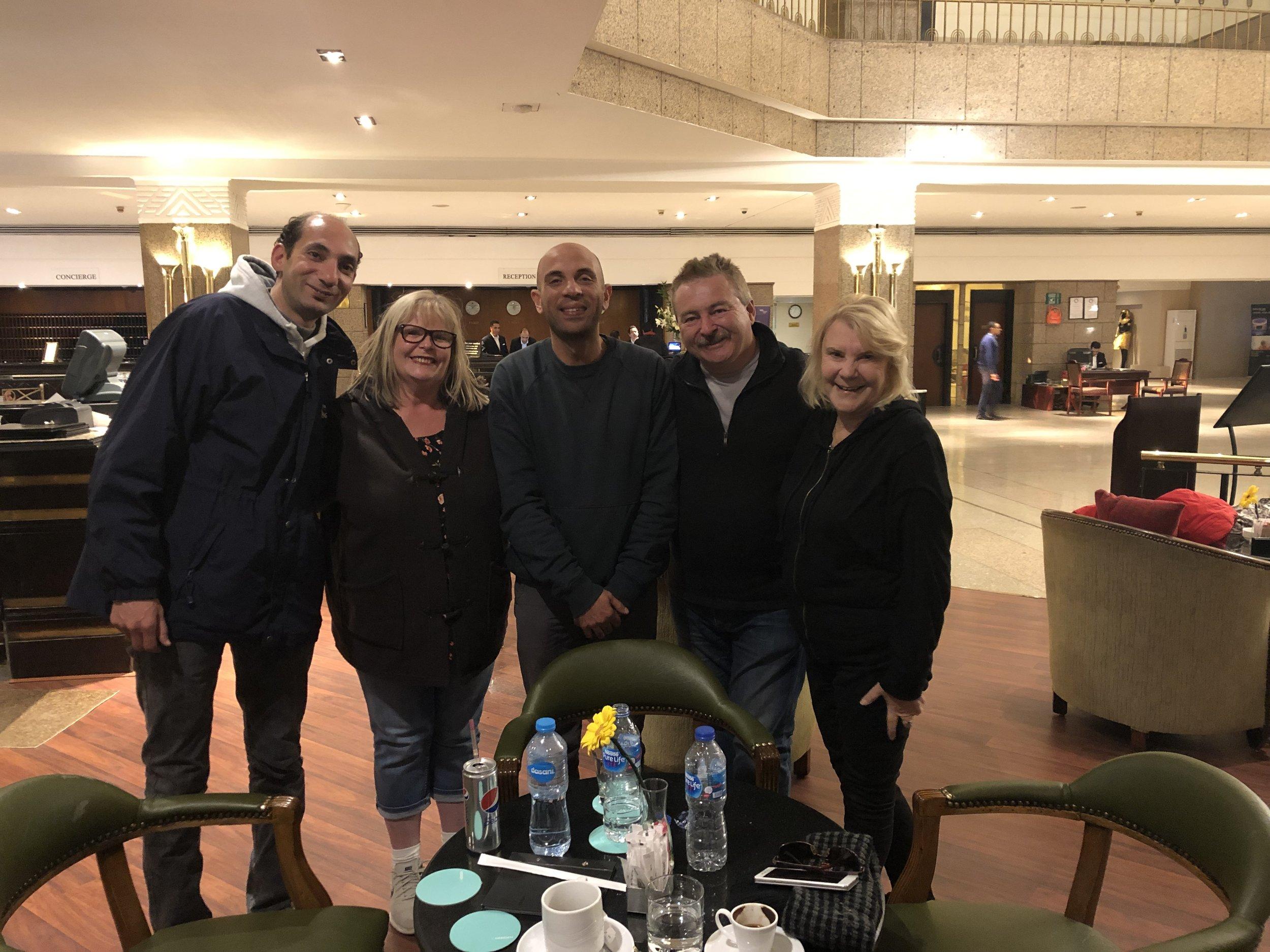 Jan 2019 Le Meridien Lobby
