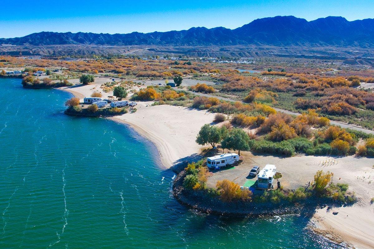 Pirate Cove RV Resort | Needles, CA     photo via Good Sam