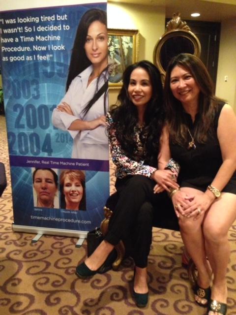 Dr. Tess Mauricio and Dr. Marissa Magsino