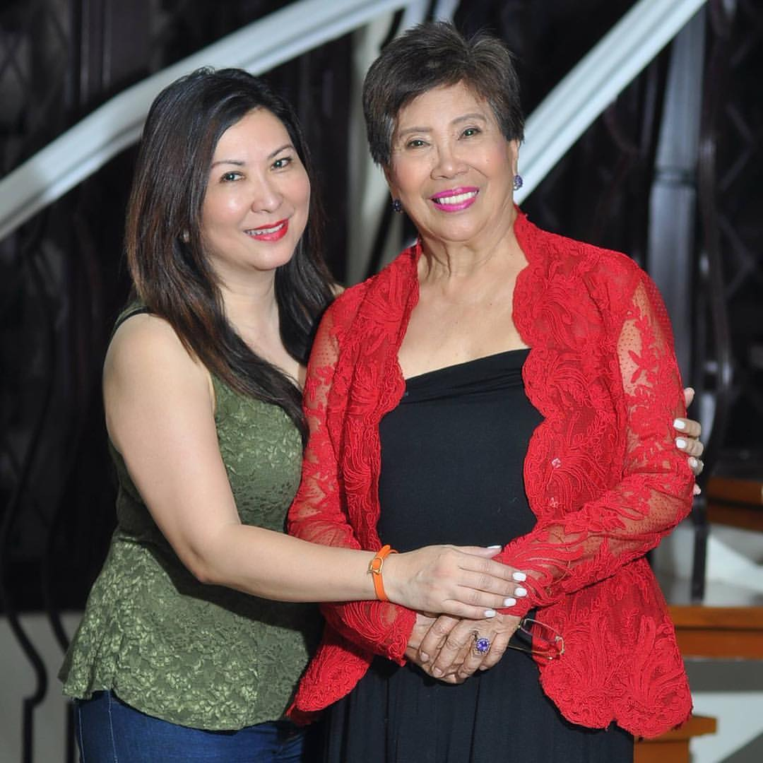 Dr. Magsino and her Mother