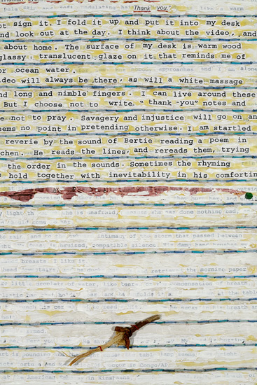 Rhyming The Lines, page 12 detail