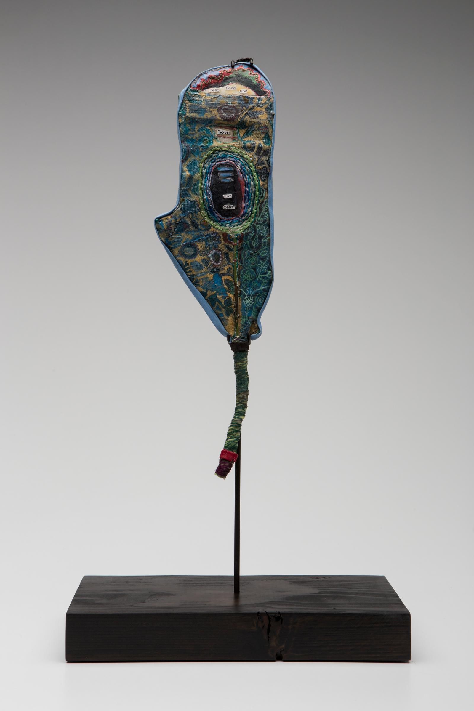 Prayer Paddles , Installation View, Sherry Leedy Contemporary Art, Kansas City, Missouri, 2013.