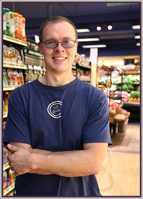 Jacob Rauth - Jacob has been with Huckleberry's since 2011 and recently made the transition to the 9th Avenue Store. With a life long interest in healthy eating and cooking, he is committed to ensuring healthy, natural and delicious products are available for everyone. When he's not at work he enjoys working in the garden and spending time with his family.