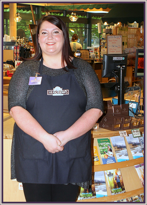 Jerrae Wacenske - Jerrae started with Rosauers in 2004 as a courtesy clerk at our Rosauers store on 14th and Lincoln. After a few years working hard she moved up to a checker, booth closer, and finally a Floor Manager. In 2014 she was then promoted to Service Manager at Huckleberry's Natural Market! Here she resides on the front end helping customers and employees alike. She strives to give the best customer service, it is her strong suite! Jerrae is very much dedicated to her family and friends, she also enjoys outdoor summer concerts and cooking.