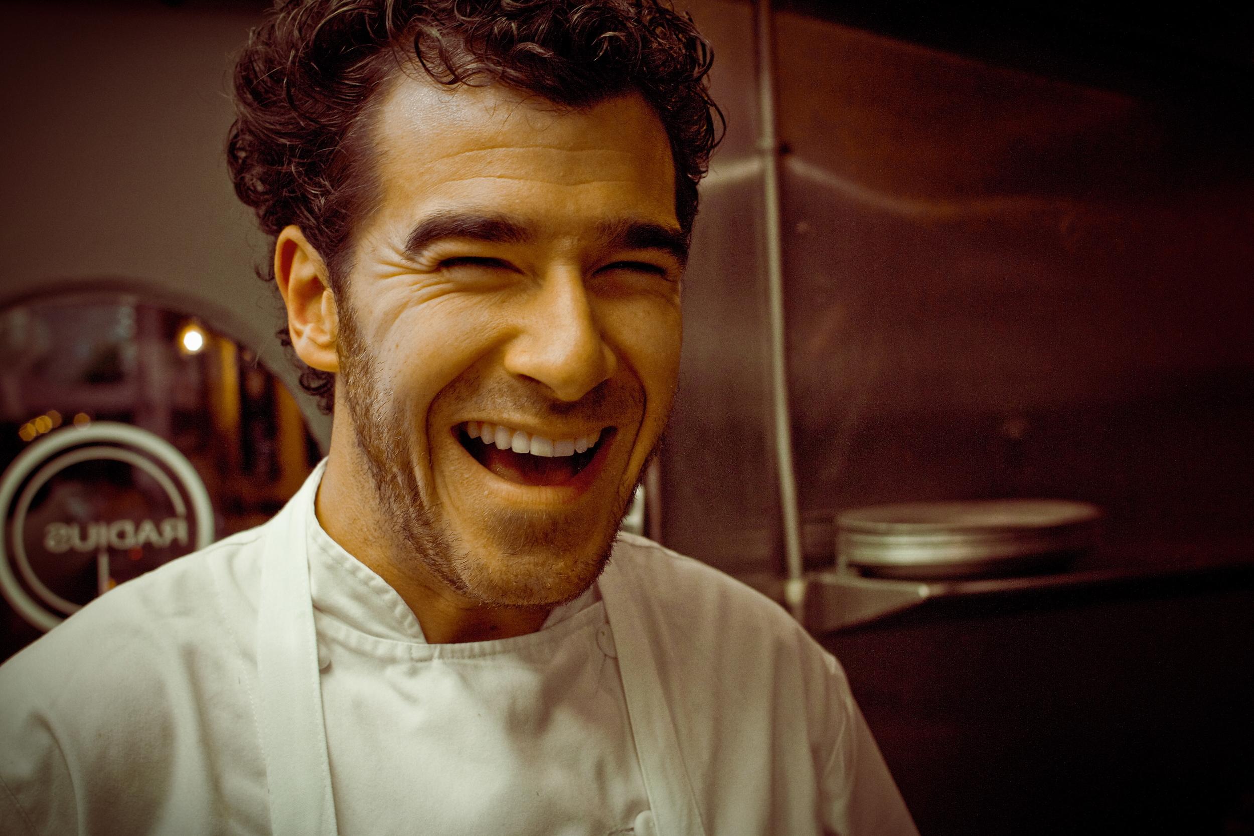 Chef Nicolas Borzee