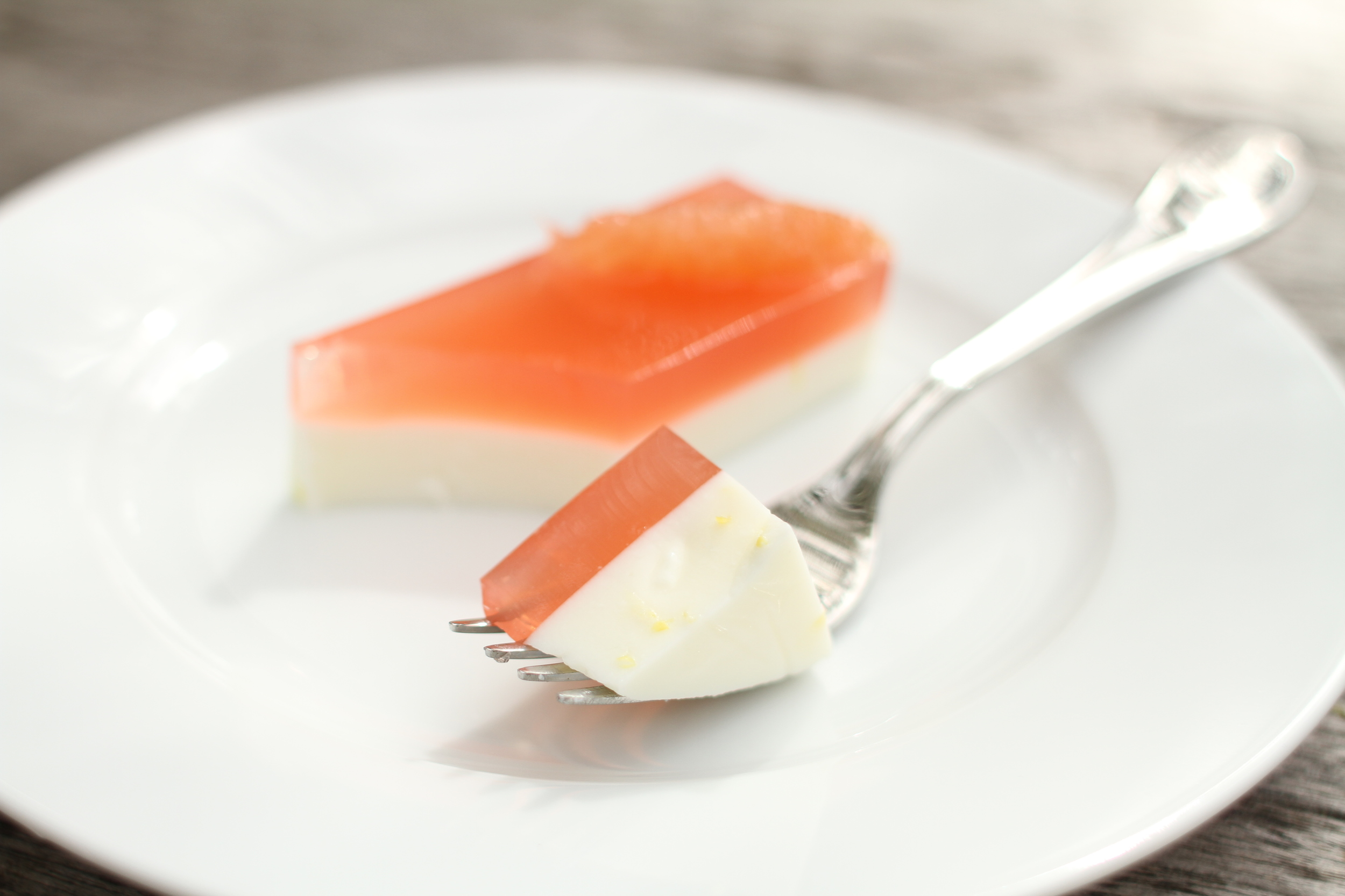 Grapefruit Panna Cotta