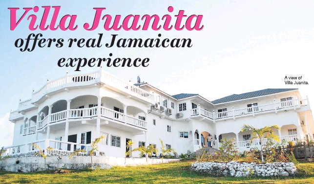 A view of Villa Juanita