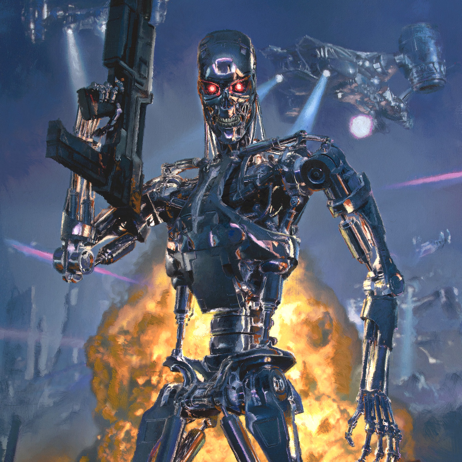 SIDESHOW TERMINATOR 2 FUTURE WARS  BY DAVE SEELEY
