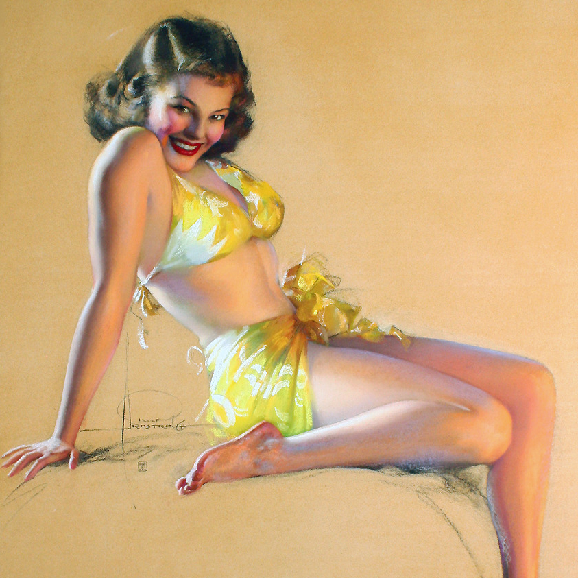 I'LL SAY SO BY ROLF ARMSTRONG