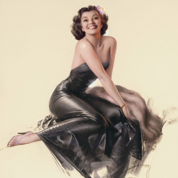 INVITING BY ROLF ARMSTRONG