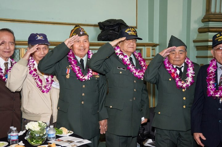 Filipino WWII veterans