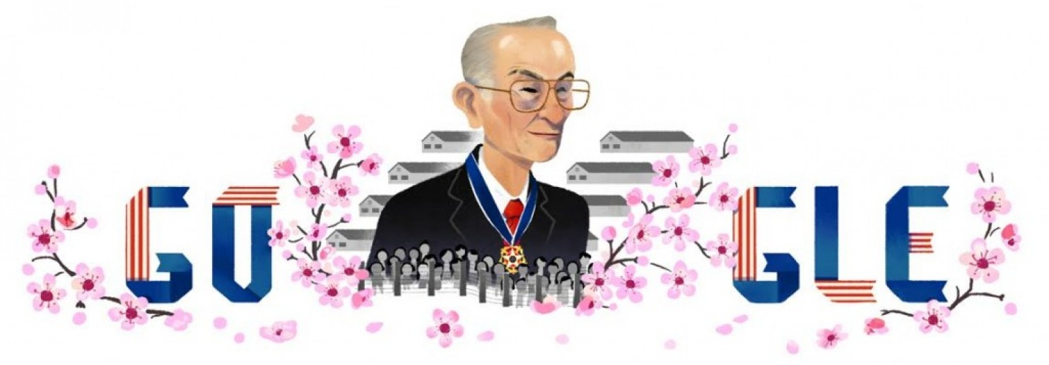 Fred Korematsu Day is celebrated on Jan. 30 in Hawaii, California, Virginia and Florida. (courtesy of Google 2017)