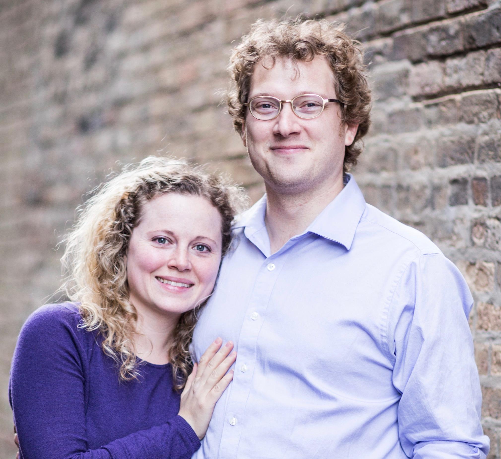 Hannah and David Edwards.  Copyrighted Photo by Ashley Rick, St. Paul Photo Co.