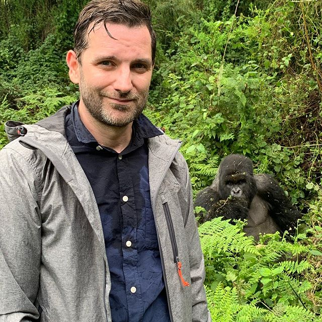 This by far surpasses any experience I have ever had. We were 5' away from most of them. #lifechanging #gorillasinthemist #gorillas #virunga #nettles #theatre #nofilter