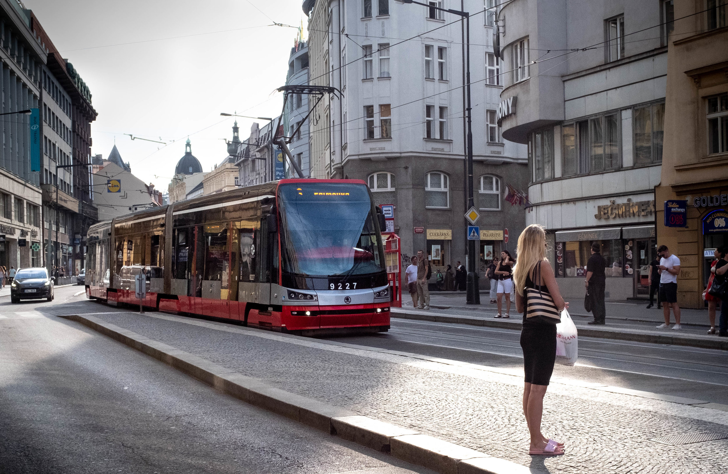 My current project, for publication in 2021:  Prague and its Trams.