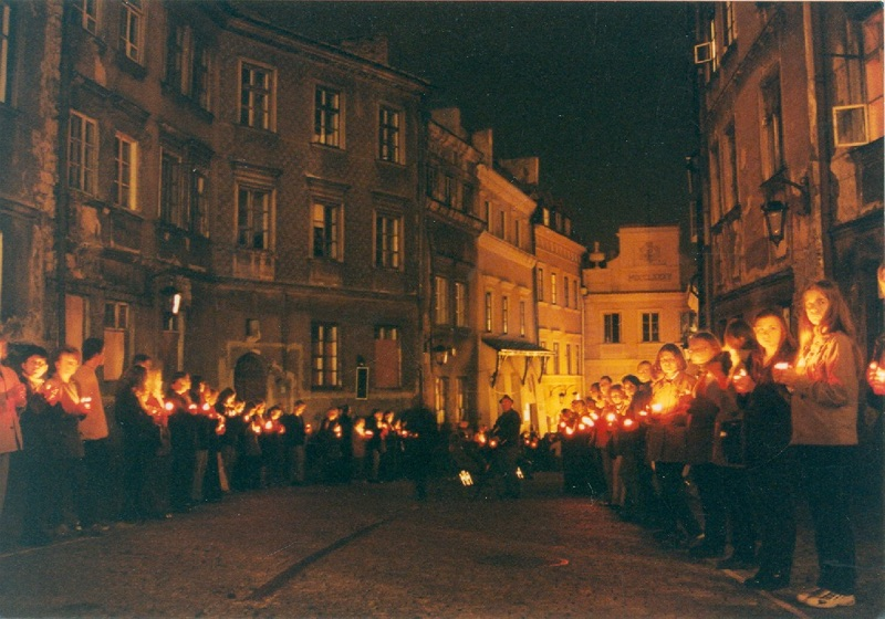One Land, Two Temples Remembrance Ceremony – Lublin, 2000