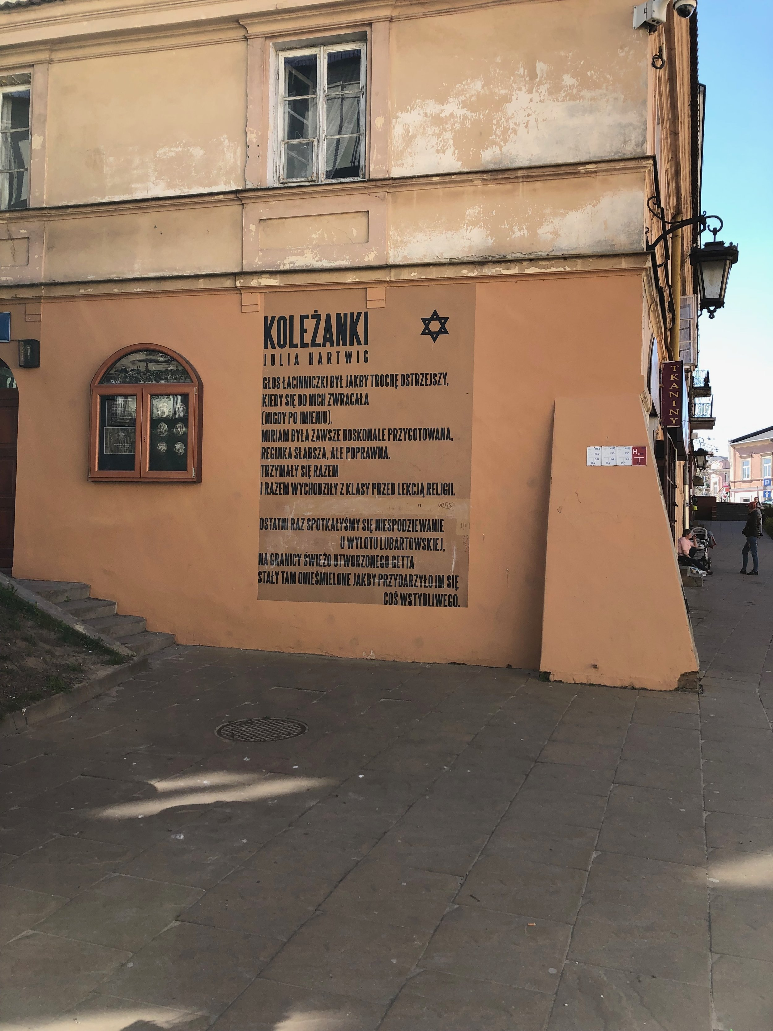 "Julia Hartwig's, ""Koleżanki"" April 19, 2019, Lublin."