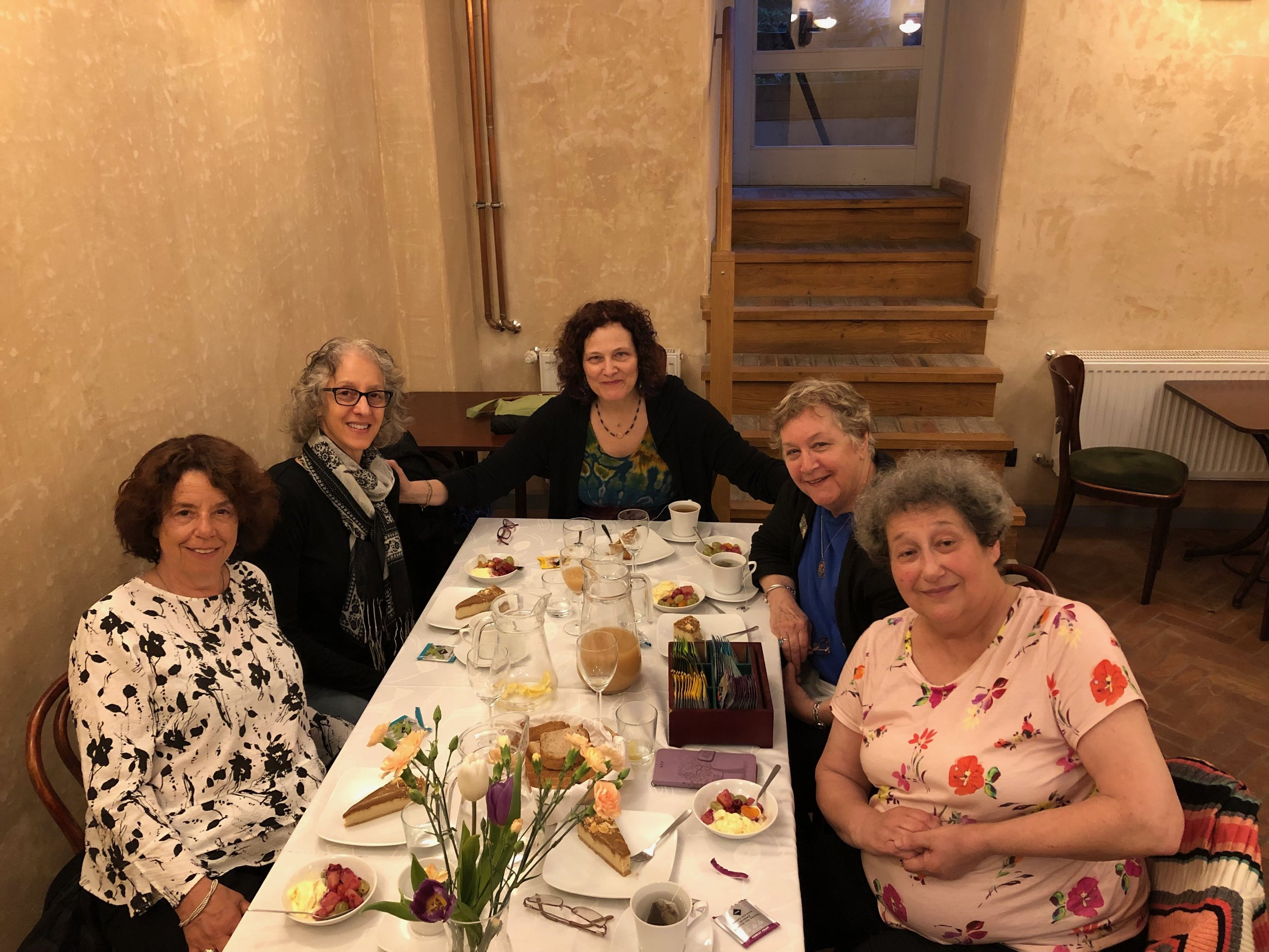 Final dinner Bridge To Poland May 2019