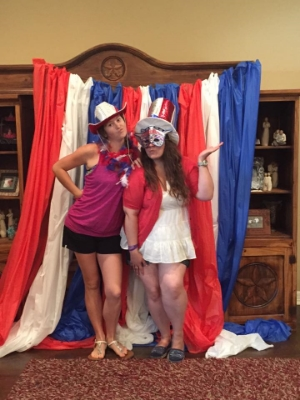 4th of July 2014 with my childhood bestie!