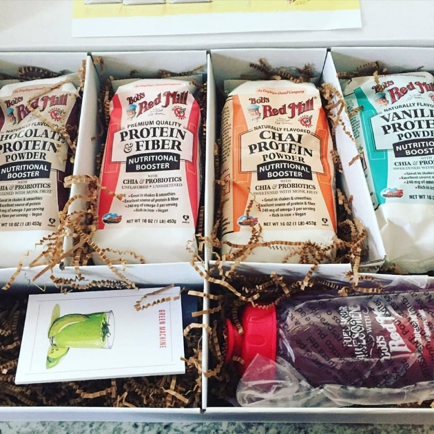 Can't wait to get your hands on some of these goodness, head  HERE  and get a coupon for Bob's Red Mill Protein!