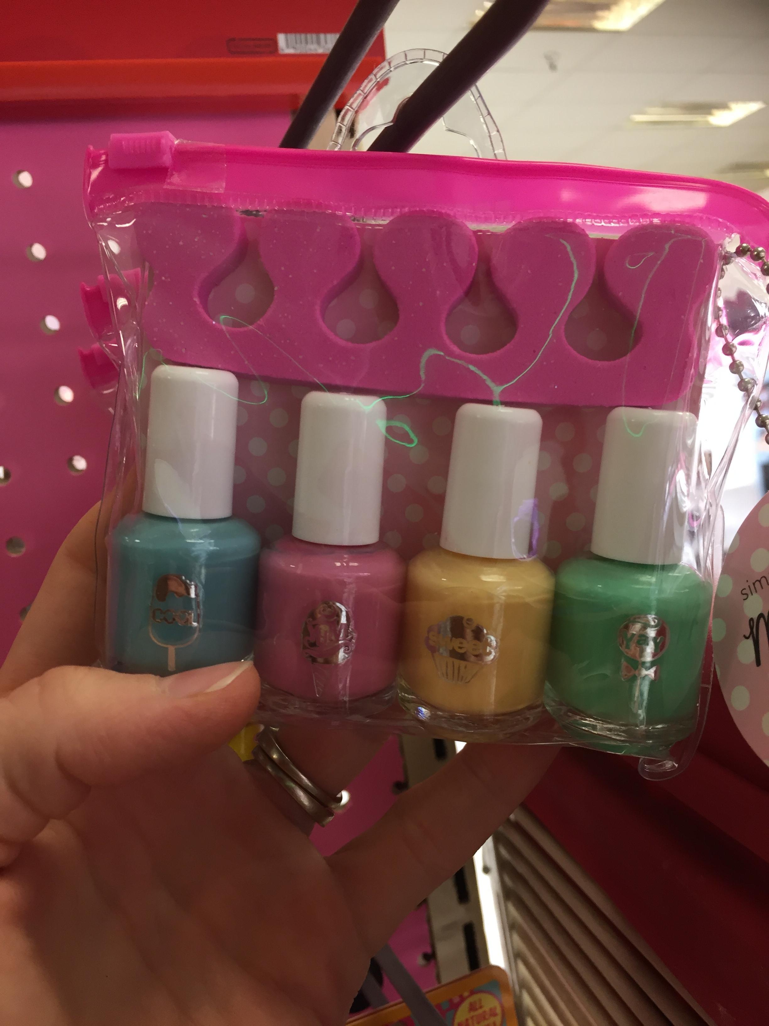 Mini Fingernail Polishes