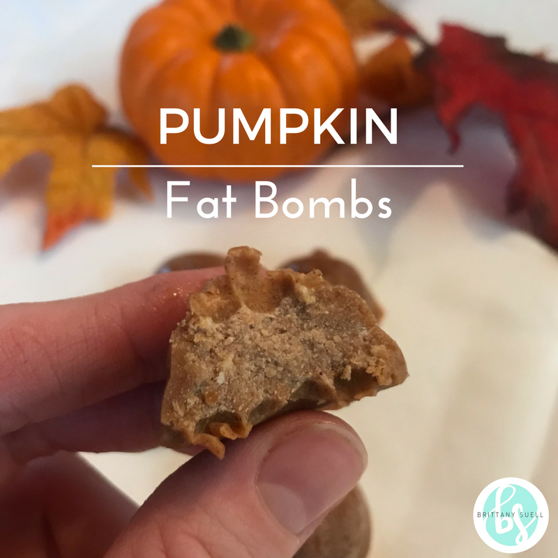 Pumpkin Fat Bombs