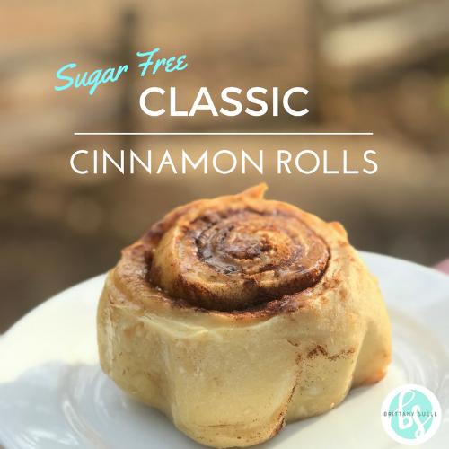 [Sugar Free] Classic Cinnamon Rolls = Perfection!