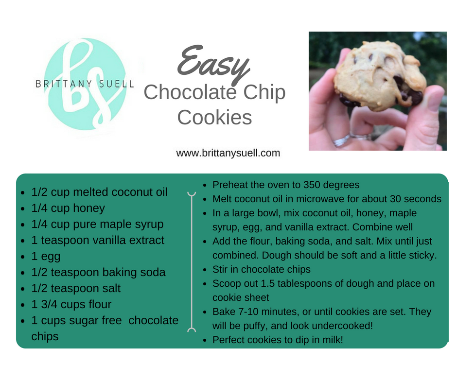 For the Paleo Cookie option,  CLICK HERE  to get it in your inbox!
