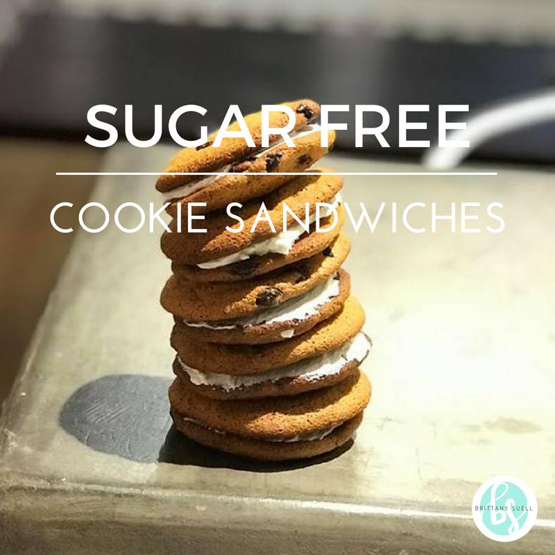 Sugar Free Cookie Sandwiches