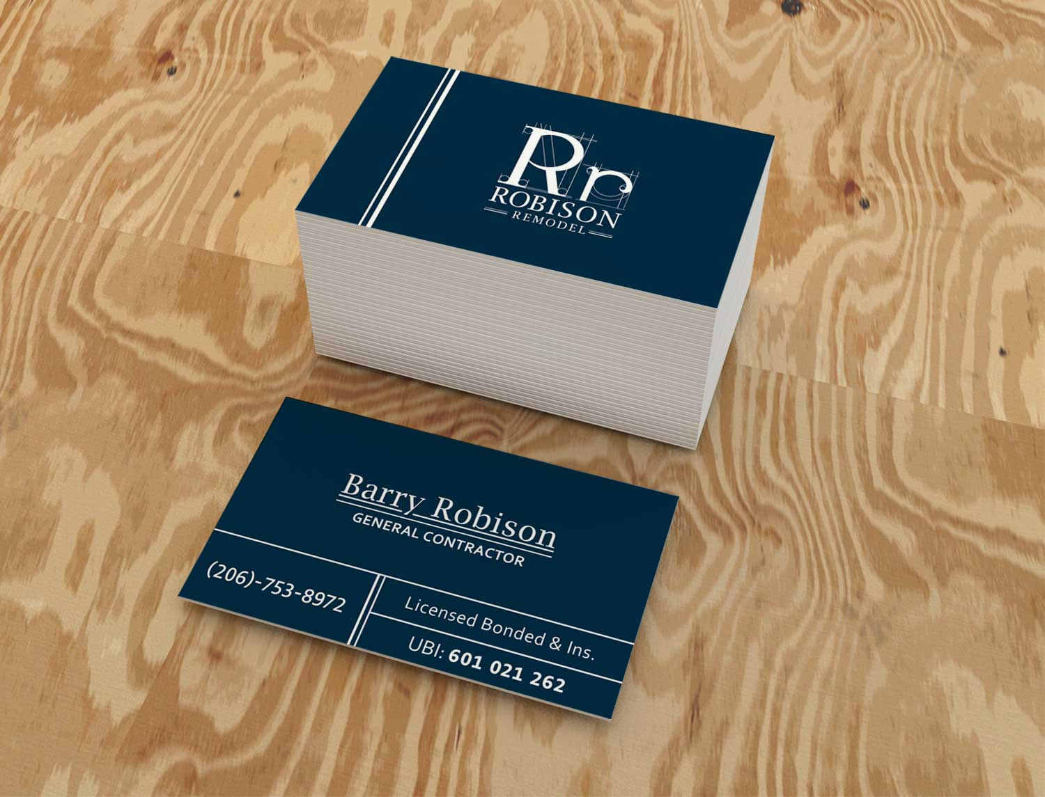 Robison Remodel Business Card