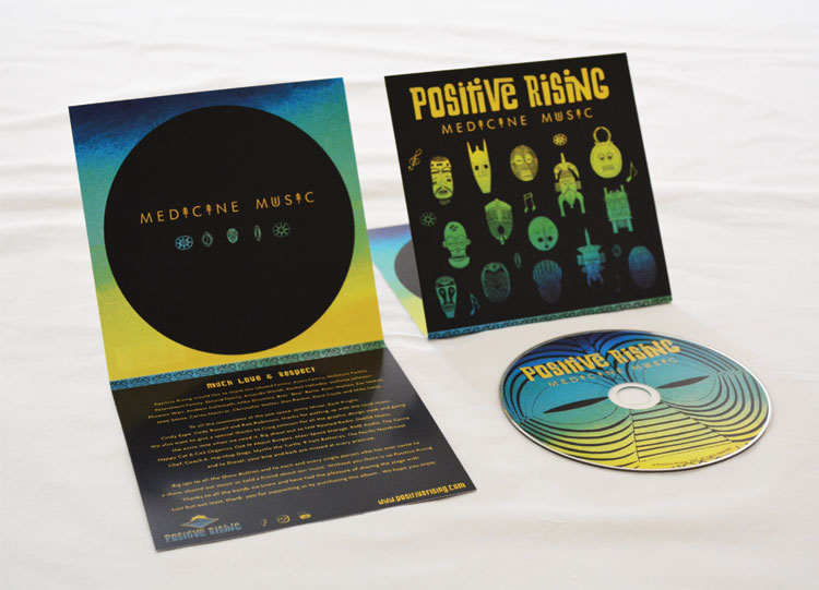 Positive Rising Album Artwork