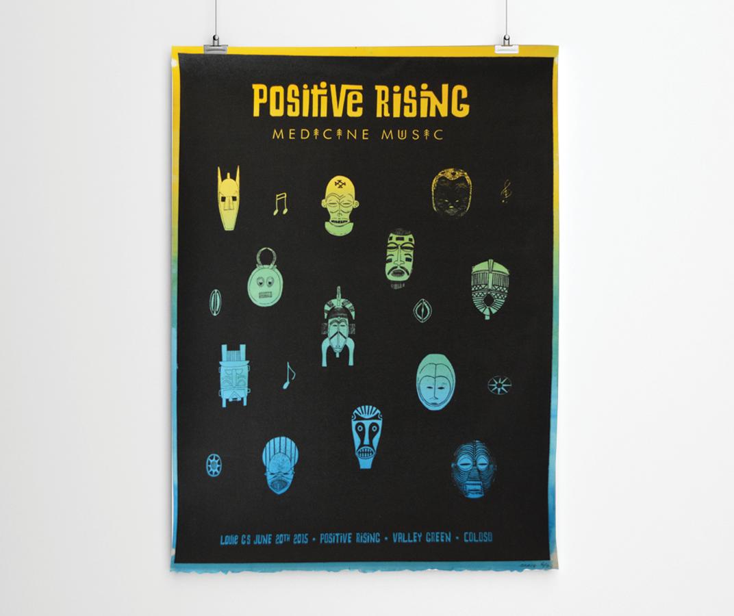 Postive Rising Poster Design