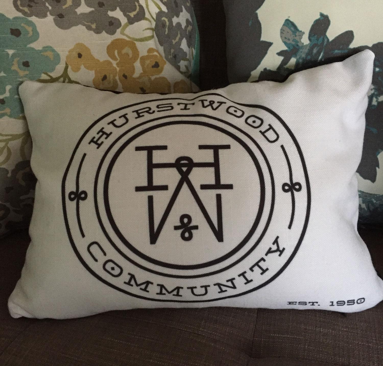 Hurstwood Community Pillow Design