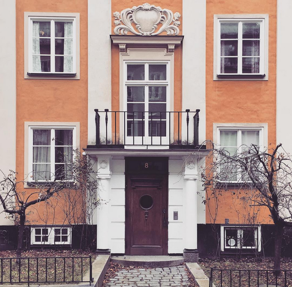 Built 1924, Danderydsgatan