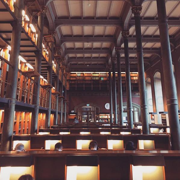 National Library of Sweden, built 1877