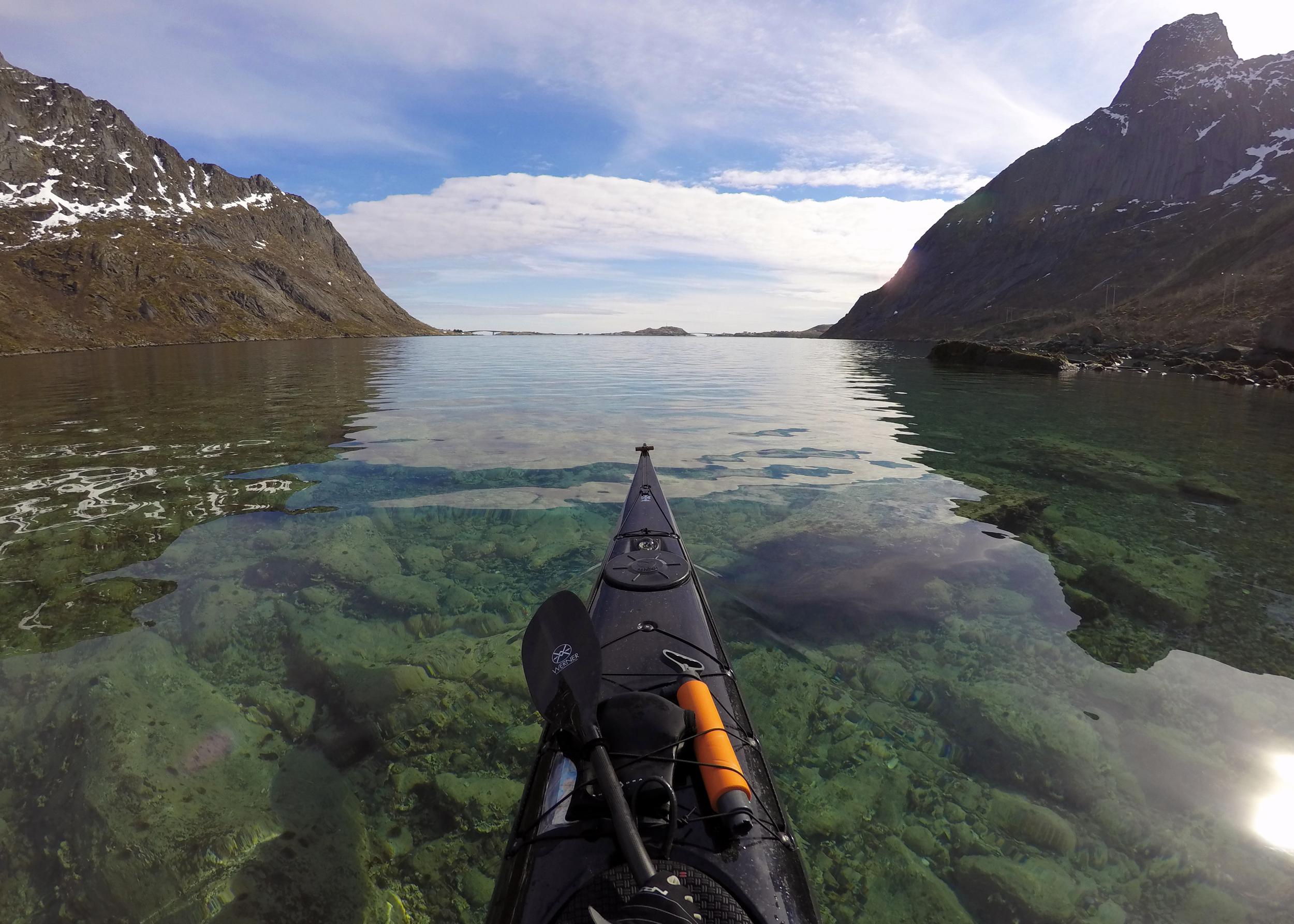 Vorfjord, Lofoten islands, Norway