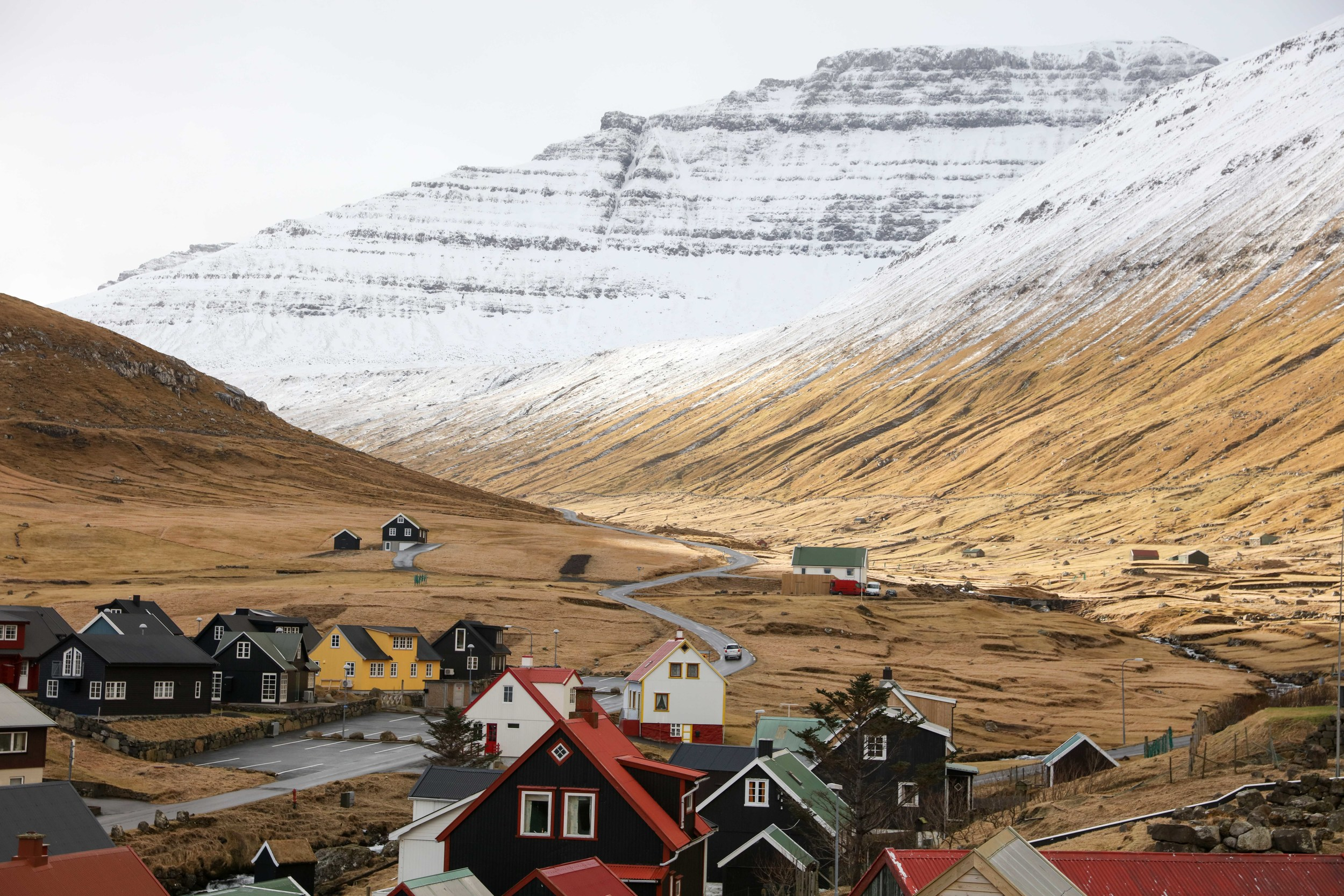 A typical village in Faroe Island, just gorgeous