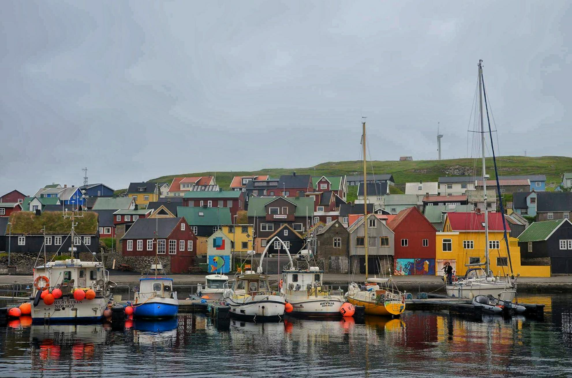 Nólsoy is an island and village in central Faroe Islands, 4 km east of the capital Tórshavn in Streymoy.