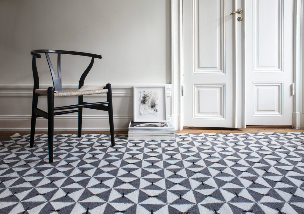 Classic geometry interpreted in a contemporary and playful way. A striking Scandinavian design that gives any room new life.