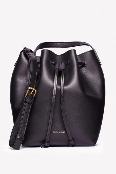 Witney Leather Bucket Bag