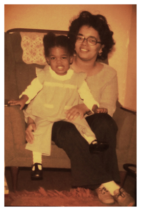 Mom and me! Our early years together...