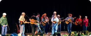 The annual bluegrass concert always ends with a multi band finale.