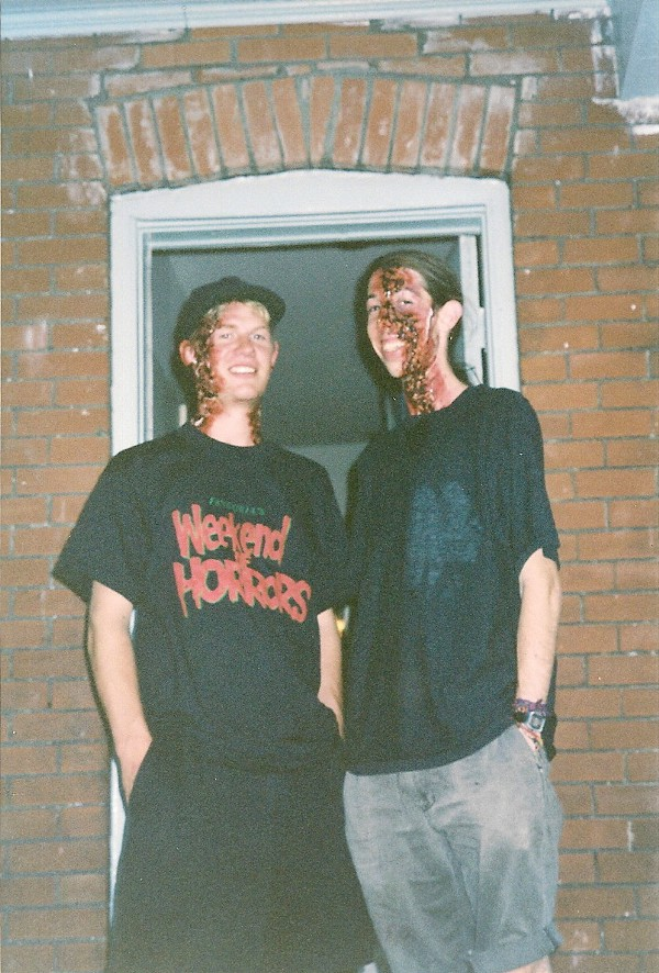 18-year-old, Dave and Skinny.