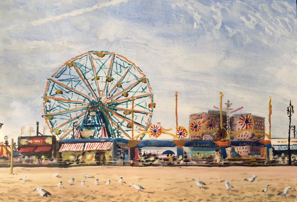 Luna Park, Coney Island, Wonder Wheel