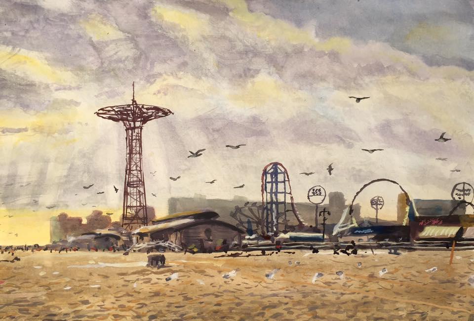 Coney Island at Luna Park