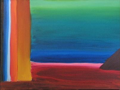 Experimental Landscape I. Red Beach