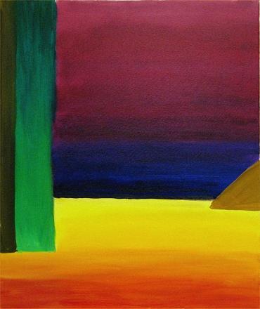 Experimental Landscape II. Yellow Beach