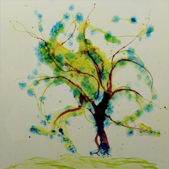 Will O, acrylic, 24x30, $540.